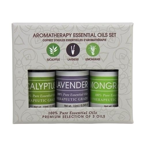 Beauty Frizz Aromatherapy Essential Oils Set of 3