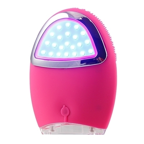 Beauty Frizz UltraLight Clear Cleansing Brush Pink