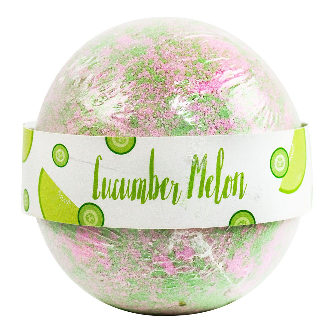 Beauty Frizz Cucumber Melon Bath Bomb