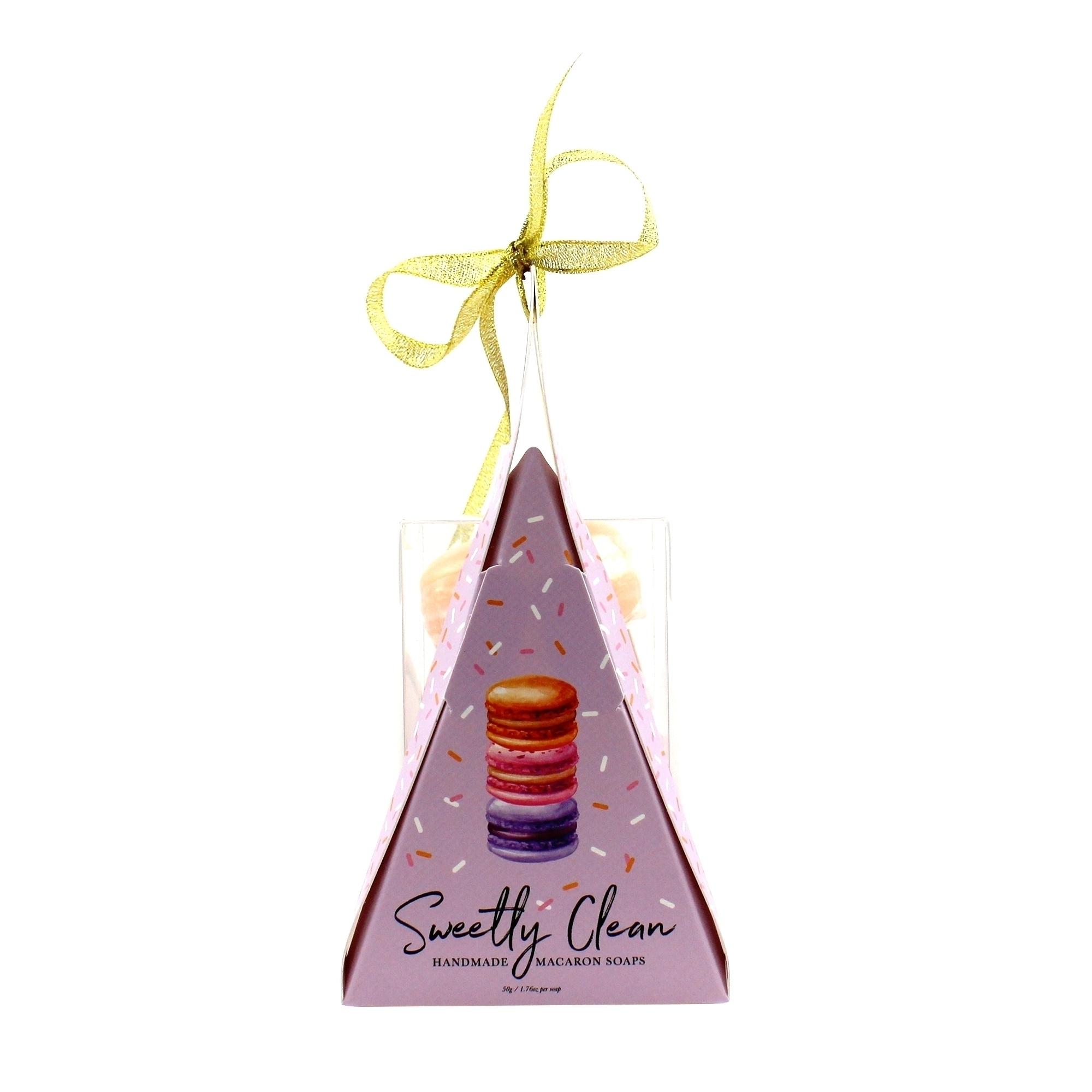 """Sweetly Clean"" Handmade Macaron Soaps"
