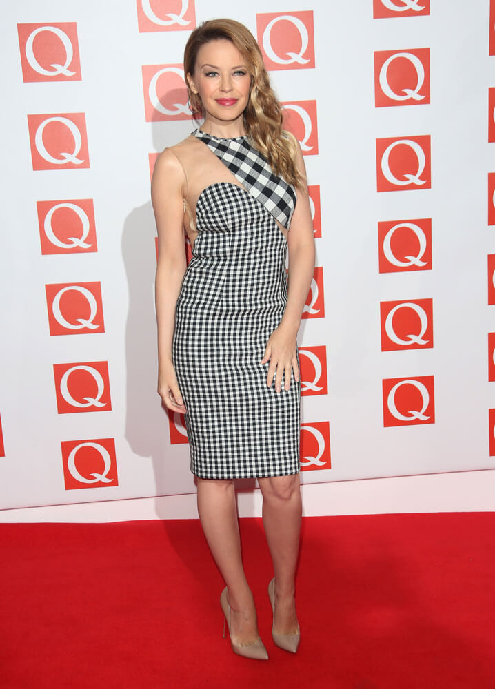 Kylie Minogue arriving for The Q Awards 2012 held at the Grosvenor Hotel, London. 22/10/2012 Picture by: Henry Harris