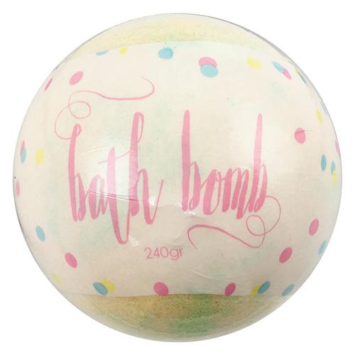 bath bomb pina colada