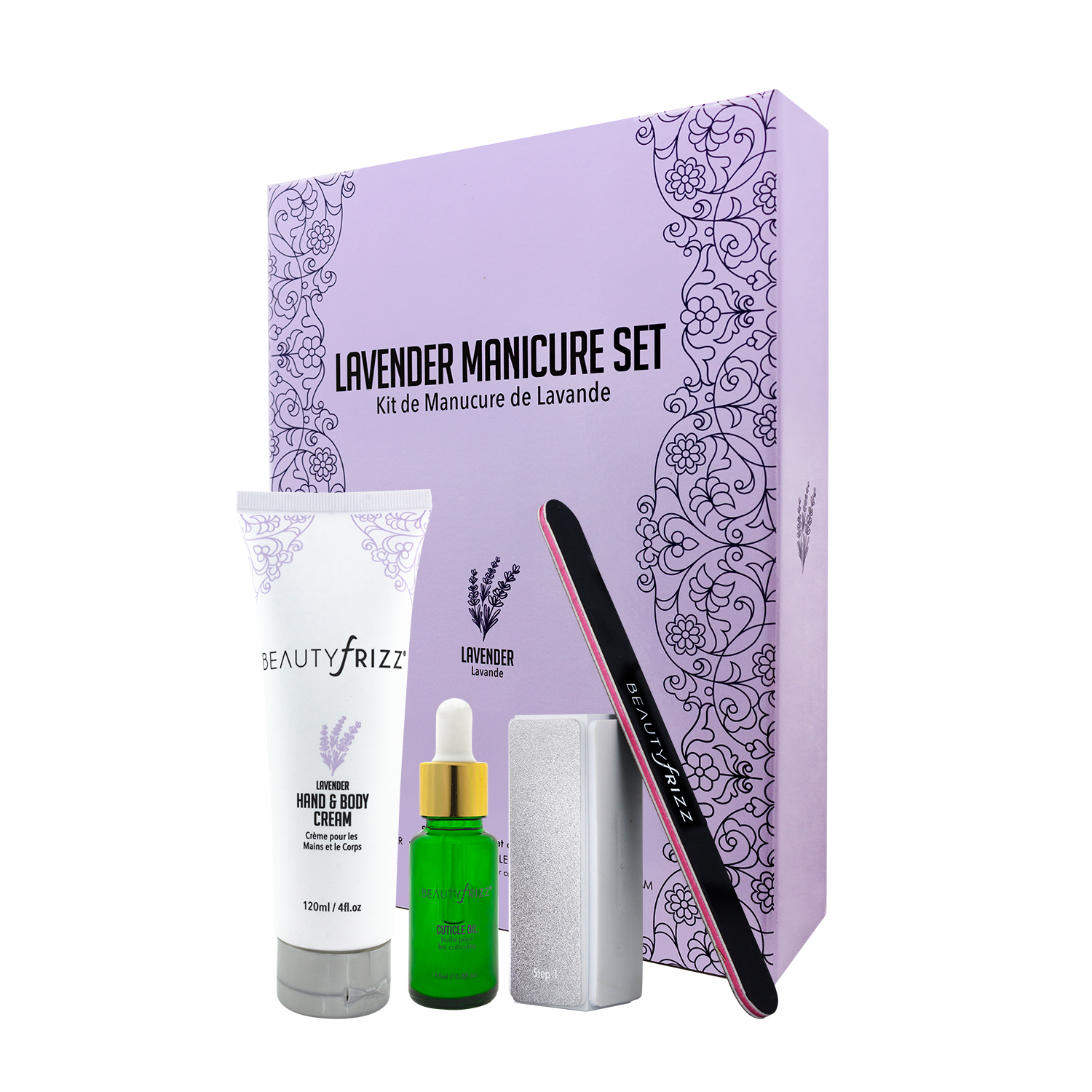Beauty Frizz Lavender Manicure Set