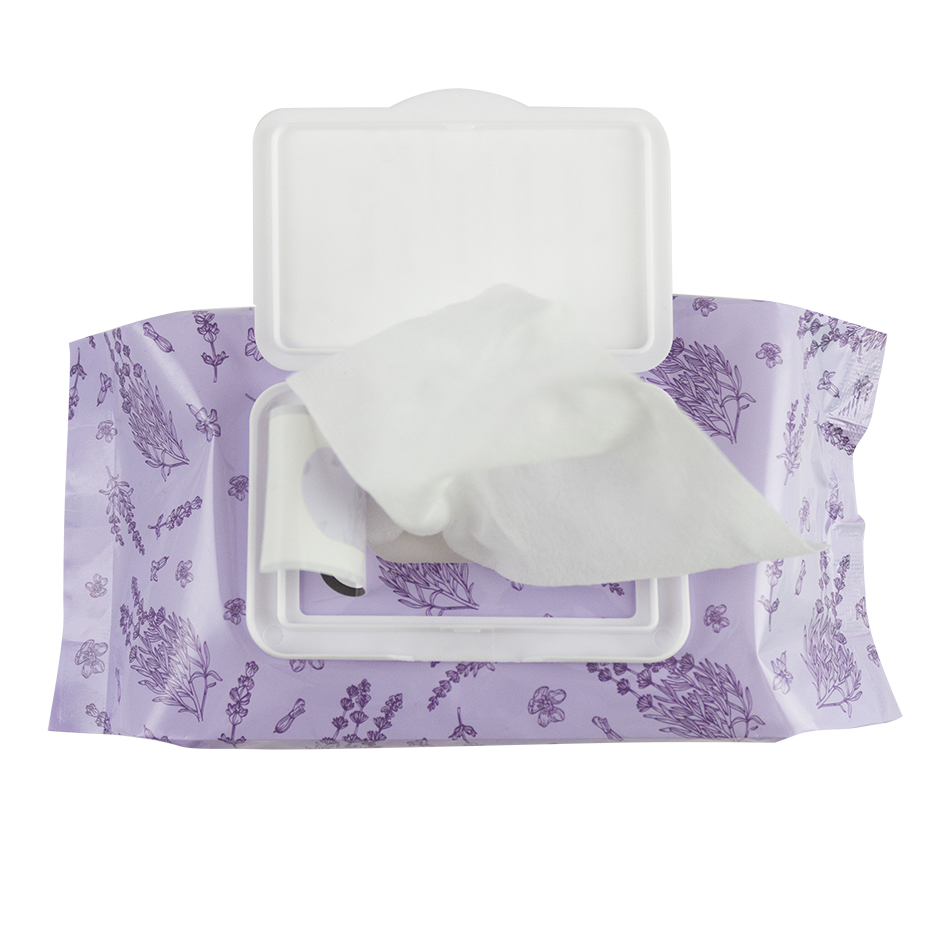 Lavender Wipes top view