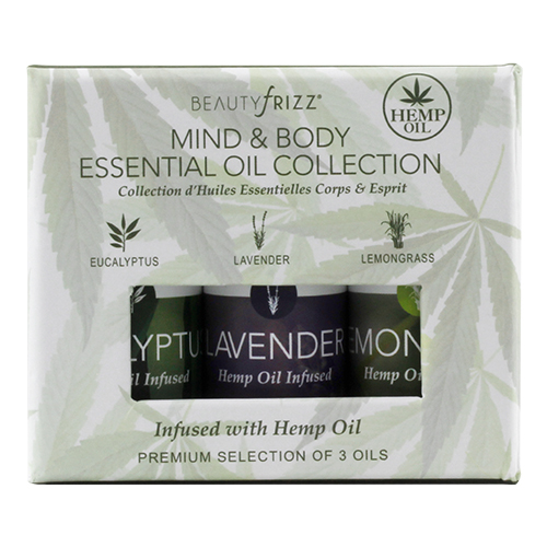BeautyFrizz-Mind and Body Essential Oil Collection 3 Oils